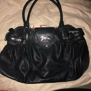 Salvatore Ferragamo Medium Black Handbag